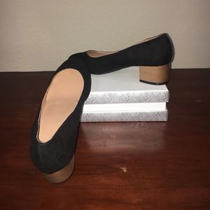 New square heel shoes!
